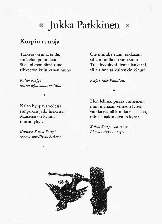 Runoja Rakkaalle